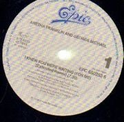 12'' - Aretha Franklin & George Michael - I Knew You Were Waiting (For Me)
