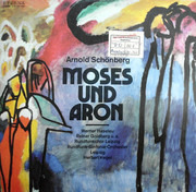 Double LP - Arnold Schoenberg Conducted By Herbert Kegel - Moses Und Aron - Gatefold