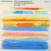 LP - Arnold Schoenberg / Günter Herbig - Fünf Orchesterstücke Op. 16 Variationen Für Orchester Op. 31
