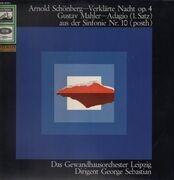 LP - Arnold Schoenberg , Gustav Mahler , George Sebastian , Gewandhausorchester Leipzig - Verklärte Nacht Op. 4 / Adagio (1. Satz) Aus Der Sinfonie Nr. 10 (Posth)