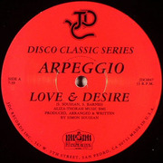 12'' - Arpeggio / French Kiss - Love & Desire / Panic