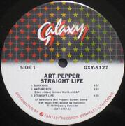 LP - Art Pepper - Straight Life