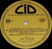 LP - Art Tatum - Erroll Garner - Art Tatum - Erroll Garner