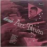 LP - Art Tatum - Here's Art Tatum