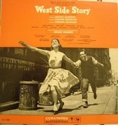 LP - Arthur Laurents , Leonard Bernstein , Stephen Sondheim , Jerome Robbins - West Side Story - 2-EYE GREY LABELS