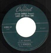 7inch Vinyl Single - Arthur Murray - Dance And Dream Time