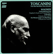 LP - Wagner - Toscanini: The Man Behind The Legend - Wagner - Still Sealed / Half Speed Mastering