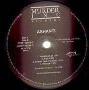 Double LP - Ashanti - Ashanti - PROMO