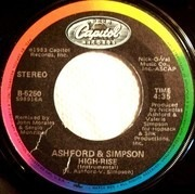 7inch Vinyl Single - Ashford & Simpson - High-Rise