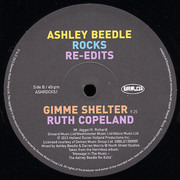 12inch Vinyl Single - Ashley Beedle - Rocks RE-Edits - UK RSD 2013 TITLE, FAMILY/RUTH COPELAND TRACKS