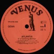LP - Atlantis - It's Getting Better - rare funk prog