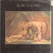 LP - Atomic Rooster - Death Walks Behind You - GERMAN BLUE PHILIPS
