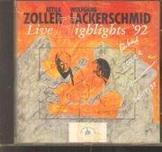 CD - Attila Zoller / Wolfgang Lackerschmid - Live Highlights '92 - Signed