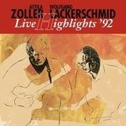 LP - Attila Zoller - Live Highlights '92 - & WOLFGANG LACKERSCHMID