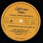 LP - Aurelio, Johnny & Friends - ...Denn Morgen Fängt Das Leben An - rare xian folk