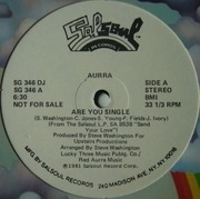 12'' - Aurra - Are You Single / Living Too Fast