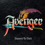 LP - Avenger - Depraved To Black - Silver with Black Splatter