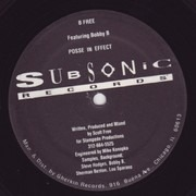12inch Vinyl Single - B Free Featuring Bobby B - Posse In Effect