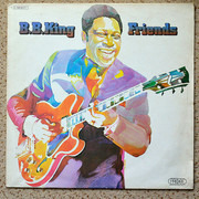 LP - B.B. King - Friends