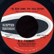 7inch Vinyl Single - B.J. Thomas - Hooked On A Feeling