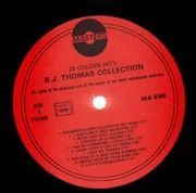 LP - B.J. Thomas - Collection - 20 Golden Hits