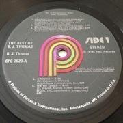 LP - B.J. Thomas - The Best Of B.J. Thomas