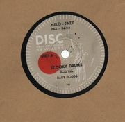 Schellack - Baby Dodds - Spooky Drums/ Rudiments Withe Drumstick Nerve-Beat