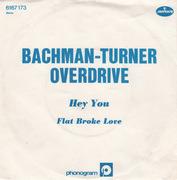 7'' - Bachman-Turner Overdrive - Hey You