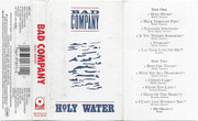 MC - Bad Company - Holy Water - Still Sealed