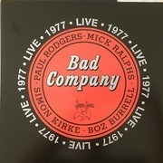 Double LP - Bad Company - Live 1977