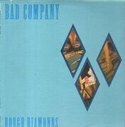 LP - bad company - Rough Diamonds - Die Cut Sleeve