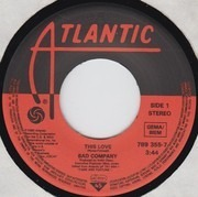 7inch Vinyl Single - Bad Company - This Love
