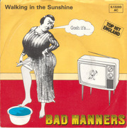 7'' - Bad Manners - Walking In The Sunshine