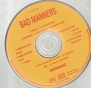 CD - Bad Manners - Skinhead