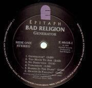 LP - Bad Religion - Generator