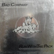 LP - Bad Company - Run With The Pack - embossed cover