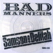 7'' - Bad Manners - Samson & Delilah - Clear