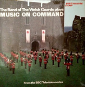LP - Band Of The Welsh Guards - Music On Command
