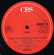 12inch Vinyl Single - Bangles - Walk Like An Egyptian