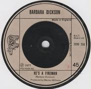7'' - Barbara Dickson - I Could Fall