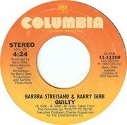 7inch Vinyl Single - Barbra Streisand & Barry Gibb - Guilty