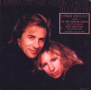 7inch Vinyl Single - Barbra Streisand & Don Johnson - Till I Loved You