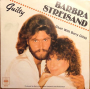 7inch Vinyl Single - Barbra Streisand Duet With Barry Gibb - Guilty