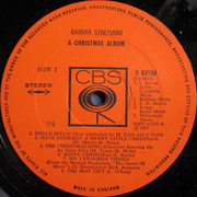 LP - Barbra Streisand - A Christmas Album