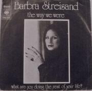 7inch Vinyl Single - Barbra Streisand - The Way We Were