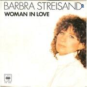 7inch Vinyl Single - Barbra Streisand - Woman In Love