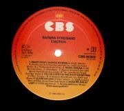LP - Barbra Streisand - Emotion