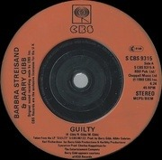 7'' - Barbra Streisand - Guilty