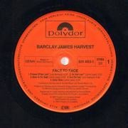 LP - Barclay James Harvest - Face To Face