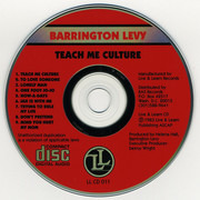 CD - Barrington Levy - Teach Me Culture